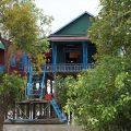 Les maisons du lac Tonlé Sap : Kampong Phluk