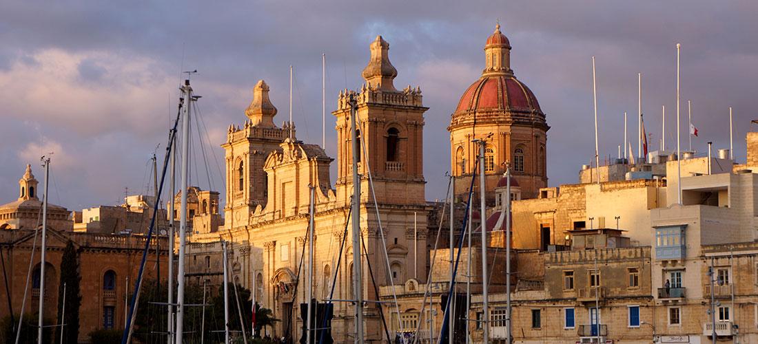 Malte, l'île aux dômes rouges